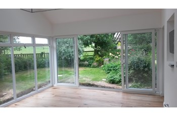 Completed Sunroom Extension
